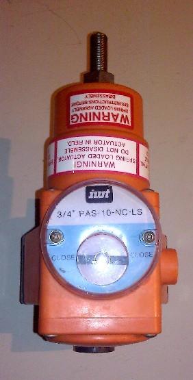 """George Fischer IWT 3/4"""" PAS 10-NC-LS Pneumatic Actuator Ball Valve"""