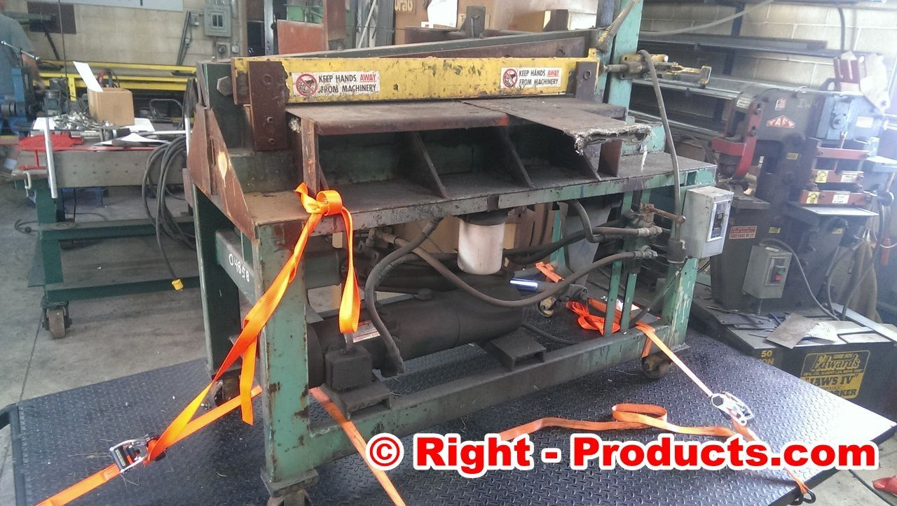 Electric Hydraulic Metal Shear for Steel Bar and Sheet Metal from Right-Products.com