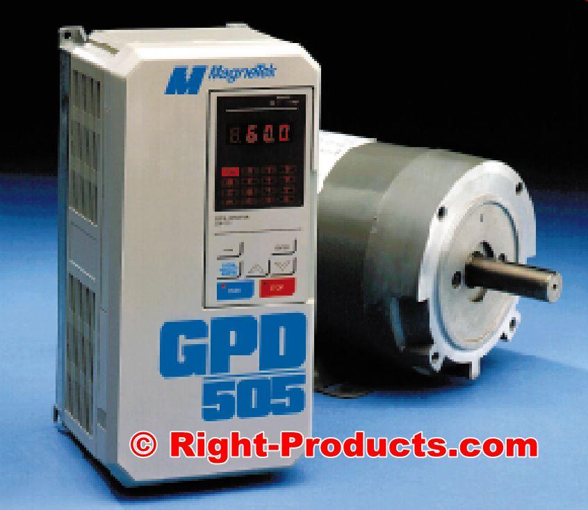 Magnetek GPD 505 Adjustable 10-Hp VFD AC Motor Drive - Right-Products.com